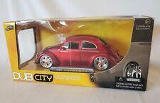 2006 Jada Dub City Oldskool 1959 VW Beetle 1:24 Red Volkswagen