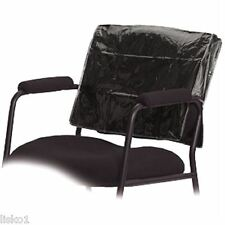 Betty Dain #196 Deluxe BLACK Square Styling Chair Back Cover