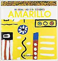AMARILLO. MANUALIDADES DE COLORES.. NUEVO. Nacional URGENTE/Internac. económico