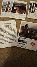 We Travel to Berlin a Quartet Card Game, Trivia Germany Cards