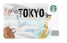 Starbucks card Tokyo card Japan limited