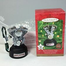 "Hallmark Keepsake ""BIG TWIN EVOLUTION ENGINE"" Harley-Davidson Ornament 2000"