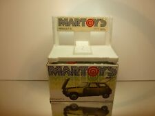 MARTOYS BOX for 103 RENAULT 5 - 1:24 VERY RARE - GOOD CONDITION - ONLY BOX