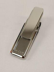 M-Clip Rhodium Money Clip