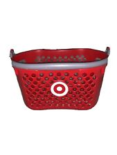 Target Store Red Shopping Hand Basket Full Size