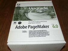 Adobe PageMaker 6.0 deutsche Vollversion für Mac Rarität