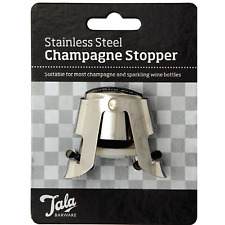 Tala Stainless Steel Champagne & Sparkling Wine Bottle Stopper 10A20070