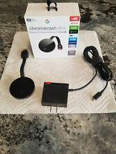 Google Chromecast Ultra 4K Digital Media Streamer - Black (Ga3A00403A14)