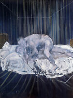 Francis Bacon : Two Figures : 1953 : Archival Quality Art Print