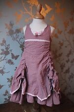 Jottum SJOUKJE dress/robe/Kleid/jurk 98/104 - 3/4 years wedding party rose grey