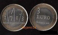 Pièces euro de la Slovénie pour 3 Euro Année 2013