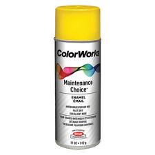 KRYLON INDUSTRIAL CWBK01287 Spray Paint, Citrus Yellow, Gloss, 10 oz.