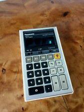 Vintage Panasonic Taschenrechner JE-170U - SELTEN!