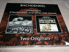 CD.BACHDENKEL.70/78 .LEMMINGS .STALINGRAD AND OTHER LOST CAUSES.PSY PROG UK DIGI