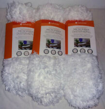 Lot of 3 Full Circle Dust Whisperer Microfiber Duster Replacement Head
