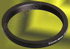 52mm to 46mm 52-46mm 52mm-46mm 52-46 Stepping Step Down Filter Ring Adapter