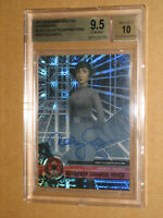✨ BGS 9.5 STAR WARS MOVIE HIGH TEK MARY MCGLYNN ARIHNDA BLACK 1/1 AUTO AUTOGRAPH
