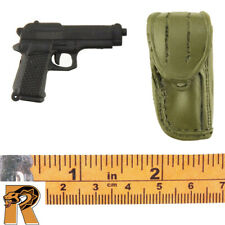 Modern Military Police - Pistol w/ Holster - 1/6 Scale - 21 Toys Action Figures