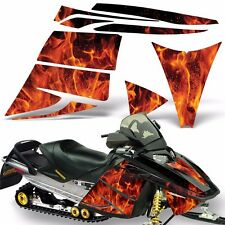Decal Graphic Kit Ski Doo Rev Skidoo Sled Snowmobile Sticker Wrap 03-09 ICE ORNG