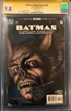 BRIAN BOLLAND SIGNED BATMAN GOTHAM KNIGHTS CGC 9.8 SS DARK KNIGHT MAN BAT CBCS