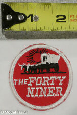 Patch #273 The Forty Niner ( Railroad Patch ) Red/White/Black