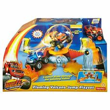 FISHER PRICE - BLAZE AND THE MONSTER MACHINES FLAMING VOLCANO JUMP PLAYSET