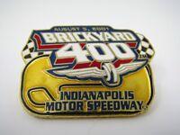 Vintage Collectible Pin: 2001 Brickyard 400 Indy Motor Speedway