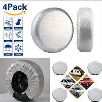 "4 Pcs Sun Protect Waterproof  Aluminum Film Tire Wheel Covers For 26-27"" Wheel"