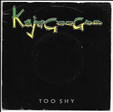"""Kajagoogoo - 'Too Shy' - UK 7"""" - EMI5359 - 1982"""