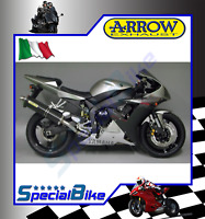 FULL SYSTEM EXHAUST YAMAHA YZF 1000 R1 2002 > 2003 ARROW RACE TECH CARBON INOX