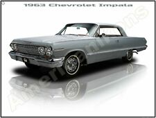 1965 Chevrolet Impala SS New Metal Sign LARGE SIZE 12 X 16 Free Shipping