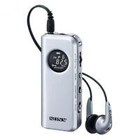 SONY SRF-M98 Synthesized Tuning Small Portable Radio Tuner Japan NEW AM FM