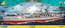COBI Battleship  Yamato  / 4814 / 2500 blocks WWII Japanese ship Small Army