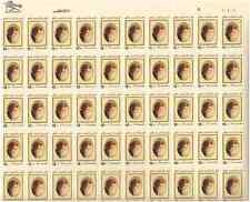 Scott #1926. 18 Cent. Edna St. Vincent Millay. Sheet of 50