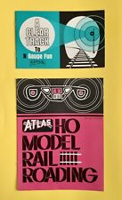 ATLAS HO Model Rail Roading Catalogs & N GAUGE Catalog Vintage Originals