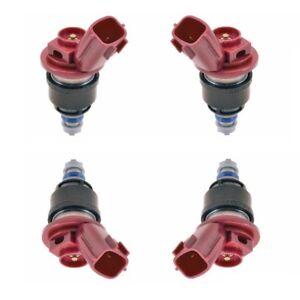 Fits Nissan 240SX Nissan Altima Set of 4 Fuel Injectors Hitachi FIJ0016
