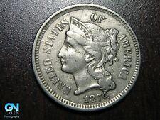 1874 3 Cent Nickel Piece    BETTER GRADE!  NICE TYPE COIN!  #B6722