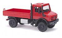 #51007 - Busch MB Unimog U 5023 / Pritsche »CMD« - Rot - 1:87