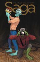 SAGA #51 IMAGE COMICS  COVER A. VAUGHAN 1st print