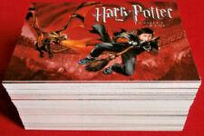HARRY POTTER, GOBLET OF FIRE - COMPLETE BASE SET 80 trading cards CARDS INC 2005