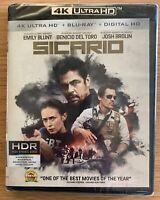 Sicario 4K UHD + Blu-ray + Digital code Brand New SEALED