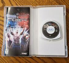 WWE SmackDown vs. Raw 2011 (Sony PSP, 2010) Black Label - Complete - Fast Ship