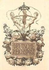 Briefmarken aus dem deutschen Reich (1924-1932) als Ganzsache