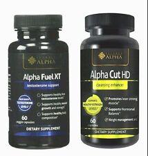 Fuel Xt & Alpha Cut Hd Testosterone Energy support