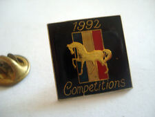 PINS RARE EQUITATION CHEVAL COMPETITION FRANCE 1992
