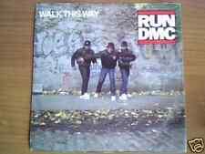 "RUN DMC Walk this way 7"" ITALY D.M.C."