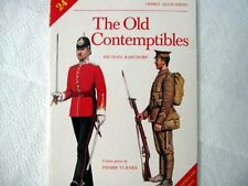 Old Contemptibles by M. Barthorp Reference British Expeditionary Force WWI
