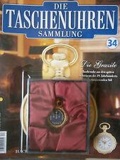 Die Taschenuhren Sammlung/Ausgabe 34 / Hachette / Neu OVP