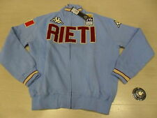 1233 TG. XL FELPA ZIP INTERA RIETI JACKET SWEAT TOP ITALY KAPPA EROI GIACCA