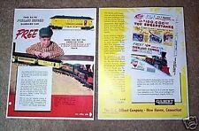 Gilbert American Flyer Frontiersman Train Promo D2125